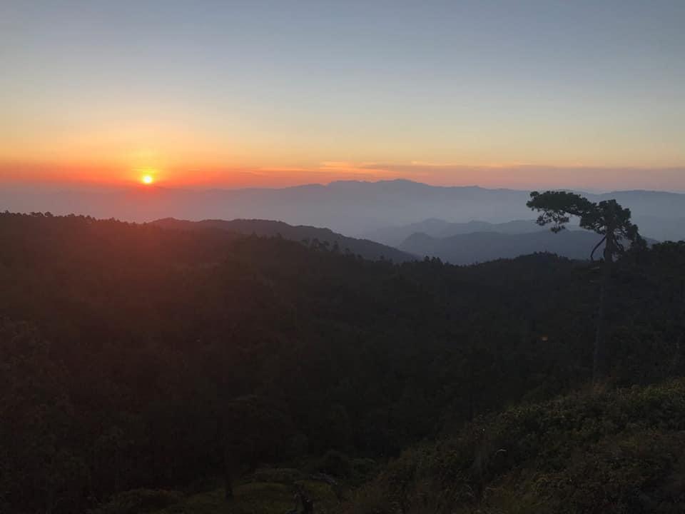 Mirador 'amanecer', Llano Grande, Oaxaca